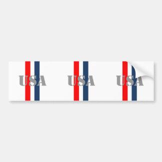 USA Soccer Bumper Sticker