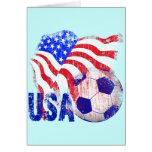USA SOCCER CARD