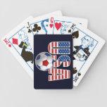 USA Soccer Card Deck