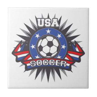 USA Soccer Ceramic Tile