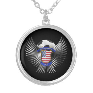 USA Soccer Champions Necklaces