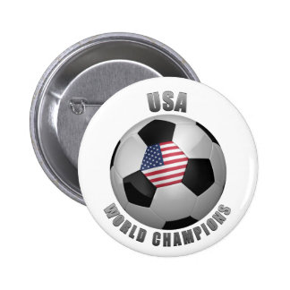 USA SOCCER CHAMPIONS PINBACK BUTTONS