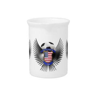 USA Soccer Champions Beverage Pitcher