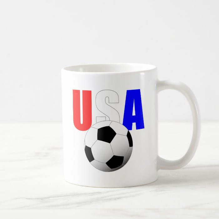 USA Soccer Coffee Mug