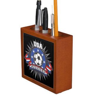 USA Soccer Pencil Holder