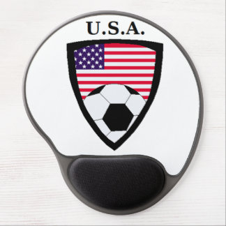 USA Soccer Gel Mouse Pad