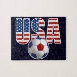 USA Soccer Jigsaw Puzzle
