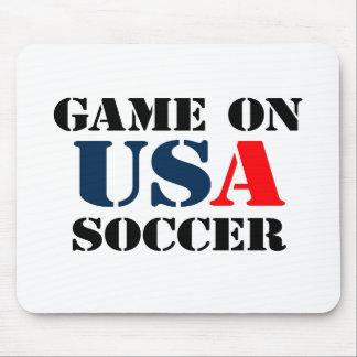 USA Soccer Mouse Pad