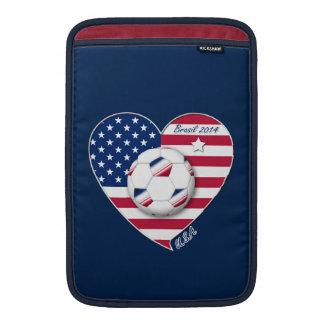 USA Soccer National Team Fútbol de Estados Unidos Funda MacBook