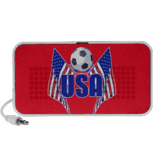 USA Soccer Notebook Speakers