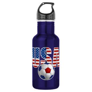 USA Soccer 18oz Water Bottle