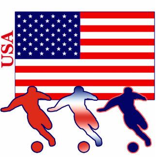 USA Soccer Players Cutout