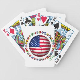 USA Soccer Card Decks