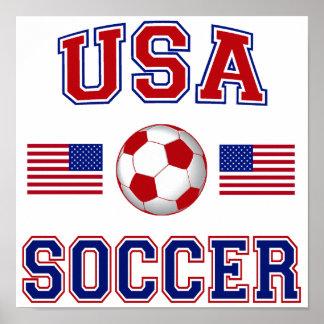 USA Soccer Print