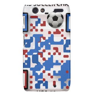USA--Soccer-QR-Code Motorola Droid RAZR Case