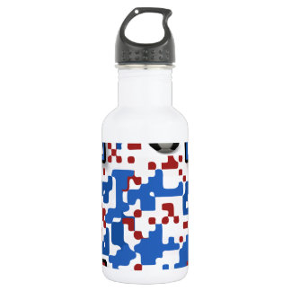 USA--Soccer-QR-Code Water Bottle