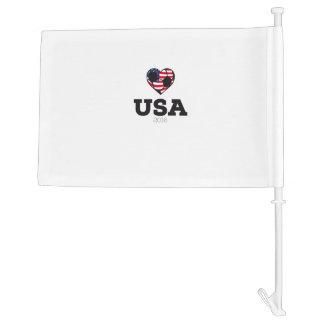 USA Soccer Shirt 2016 Car Flag