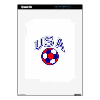 USA SOCCER SKIN FOR iPad 2