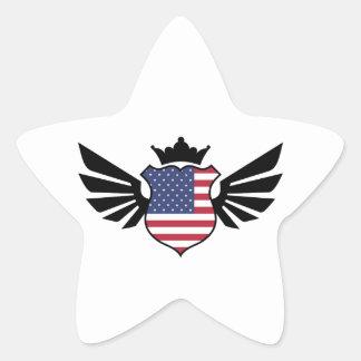 USA soccer Star Sticker
