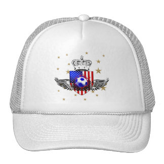 USA soccer supporters baseball cap Trucker Hat