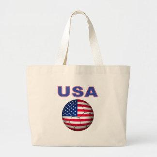 USA soccer T-Shirt Tote Bag