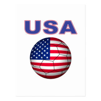 USA soccer T-Shirt Postcard