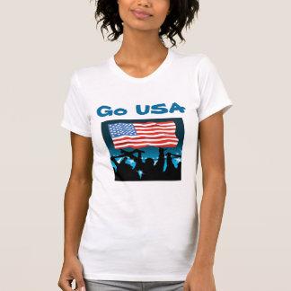 USA soccer t-shirts-Go USA