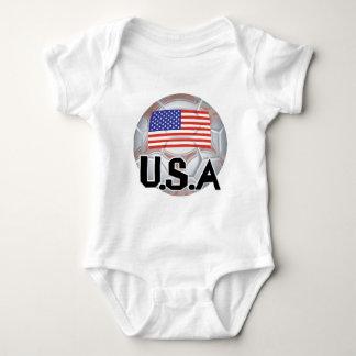 USA Soccer Team Baby Bodysuit