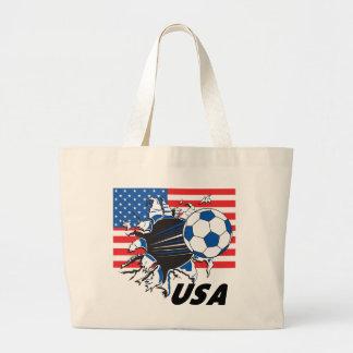 USA Soccer Team Canvas Bag