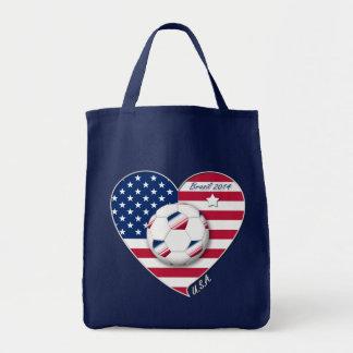 USA Soccer Team Fútbol Estados Unidos 2014 Bolsa De Mano