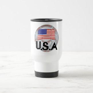 USA Soccer Team Travel Mug
