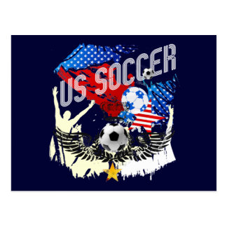 USA soccer - United States 2014 world cup soccer Postcard