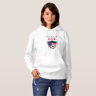 USA Soccer USA 2018 World Football 2018 Hoodie
