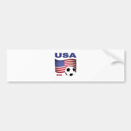 USA Soccer World Cup 2010 Bumper Sticker