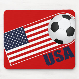 USA Soccer World Cup Mouse Pad