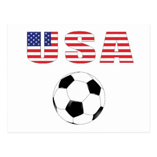 USA Soccer World Cup South Africa  2010 Postcard