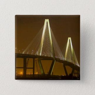 USA, South Carolina, Charleston. Arthur Pinback Button