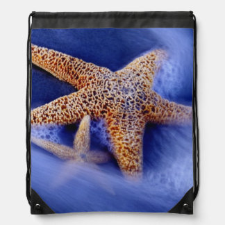 USA, South Carolina, Hilton Head Island. Two Drawstring Bag