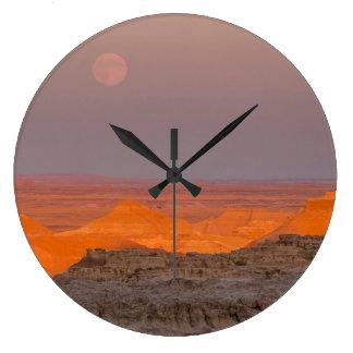 USA, South Dakota, Badlands National Park Large Clock