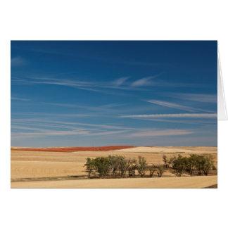 USA, South Dakota, Murdo, Prairie Landscape Card