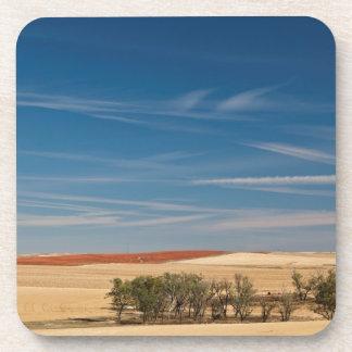 USA, South Dakota, Murdo, Prairie Landscape Drink Coaster