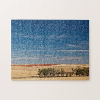 USA, South Dakota, Murdo, Prairie Landscape Jigsaw Puzzle
