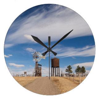 USA, South Dakota, Stamford, 1880 Town Large Clock