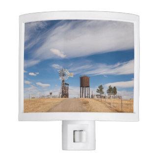 USA, South Dakota, Stamford, 1880 Town Night Light