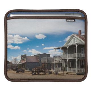 USA, South Dakota, Stamford, 1880 Town, Pioneer iPad Sleeves