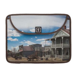 USA, South Dakota, Stamford, 1880 Town, Pioneer MacBook Pro Sleeves