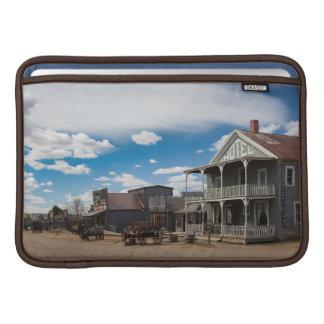 USA, South Dakota, Stamford, 1880 Town, Pioneer MacBook Sleeves