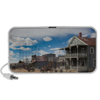 USA, South Dakota, Stamford, 1880 Town, Pioneer Portable Speaker