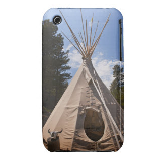 USA, South Dakota, Traditional Indian teepee iPhone 3 Case-Mate Case