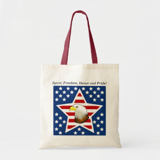 USA Spirit, Freedom, Honor and Pride! Tote Bag